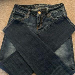 EUC  American Eagle Jegging Jeans -size -  0